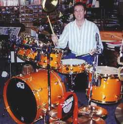 Drums N' Moore owner and drum guru, Rand Moore